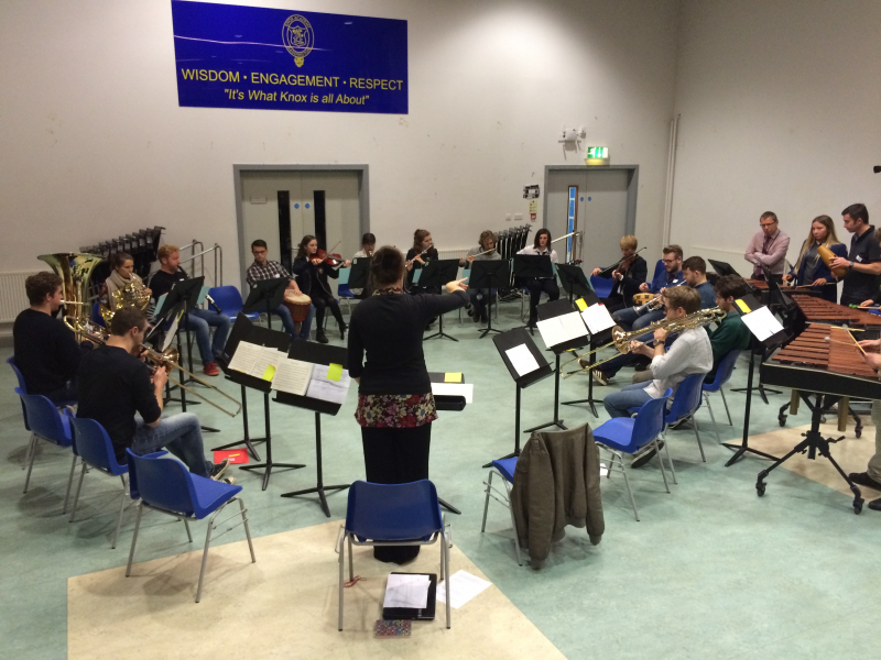 New Music Makers at Knox Academy