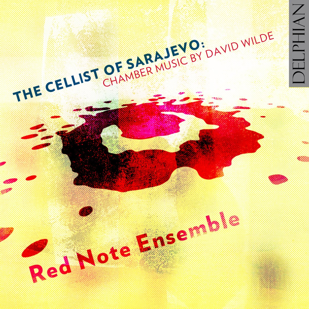 CD Cover The Cellist of Sarajevo